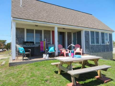 Sit, relax and enjoy the fresh sea salt air - 47 Little Beach Road Chatham Cape Cod New England Vacation Rentals