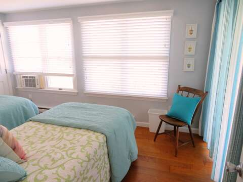 Great view from this room and sliders to patio and yard as well as A/C - 47 Little Beach Road Chatham Cape Cod New England Vacation Rentals