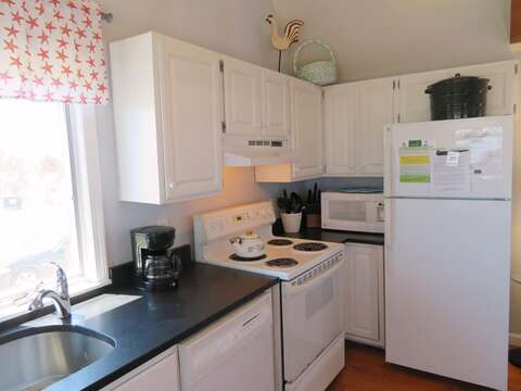 Fully equipped kitchen with dishwasher - 47 Little Beach Road Chatham Cape Cod New England Vacation Rentals