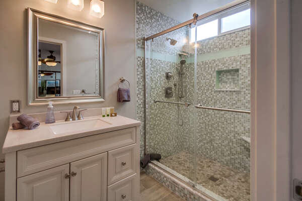 Master Bathroom with Vanity