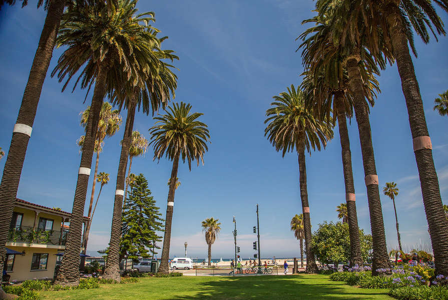 A historic park on Cabrillo Blvd