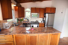 Gourmet Kitchen with elegant granite counter tops