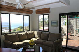 Great Room and private patio