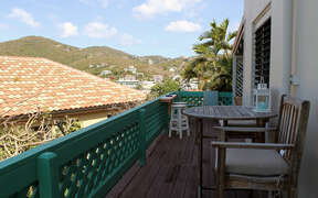 Relax and enjoy breezes and views on deck