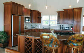 Gourmet kitchen with all amenities is sure to please the 'cook'.