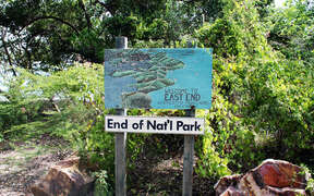 End of the National Park