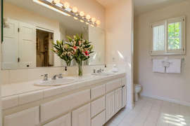 En suite bathroom from master bedroom.