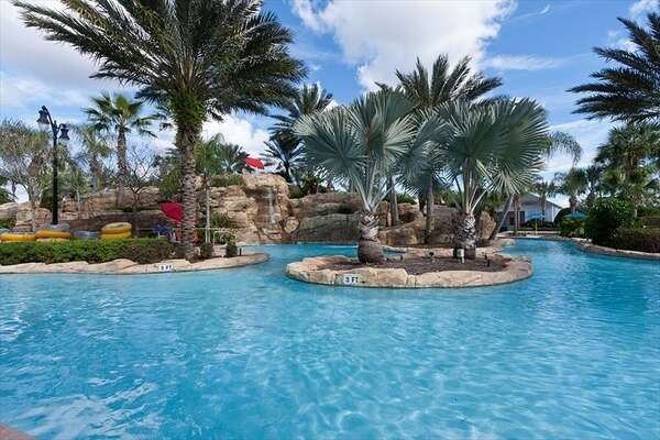 The Reunion Water Park Lazy River