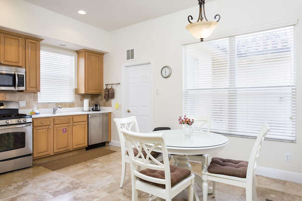 Spacious kitchen that meets all of your needs