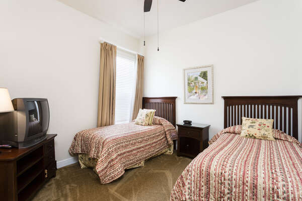 Two Twin Size Beds