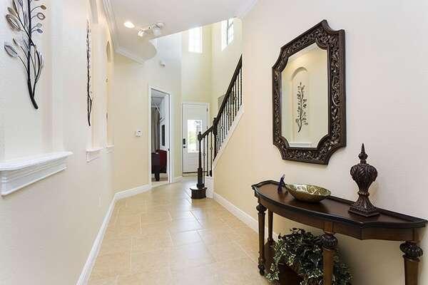 Elegant foyer