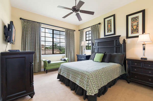 Lovely upstairs bedroom