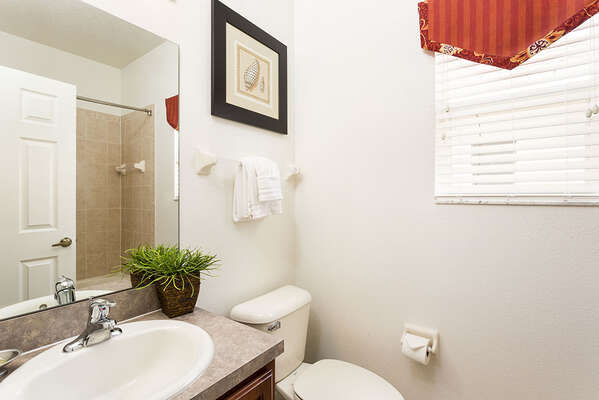 Tub and shower Bathroom