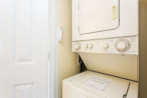 Washer and dreer adds extra convenience
