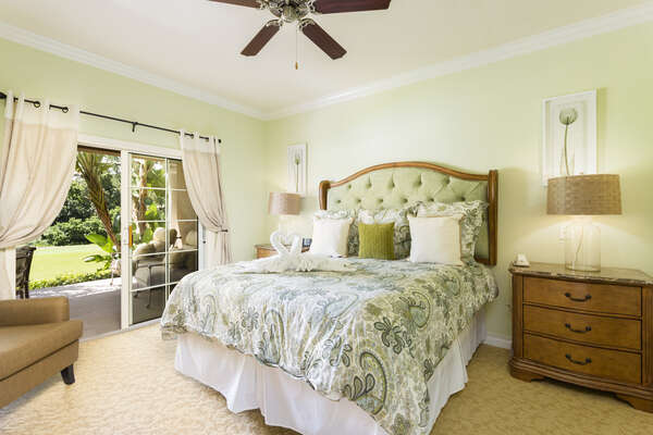 King Size Mater bedroom
