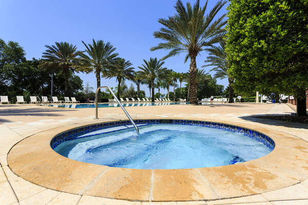Seven Eagles Pool Complex - heated infinity pool, fitness center, spa, and arcade
