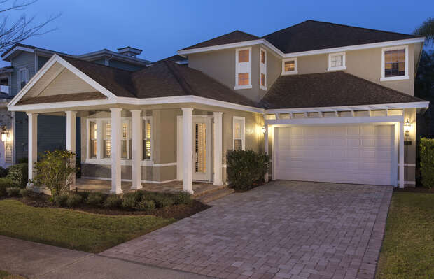 This stunning Estate Vacation Home located in the desirable Homestead community of Reunion features over 3800 square feet of upscale luxury