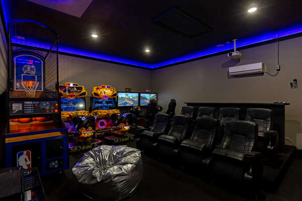 Play arcade games and watch all your favorite movies and shows