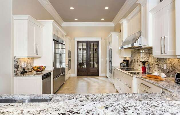 Gorgeous granite countertops and plenty of space to prepare delicious meals.