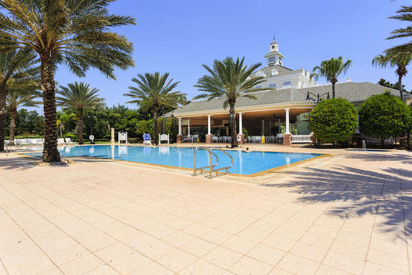 The Seven Eagles Pool and Pavilion in the Resort