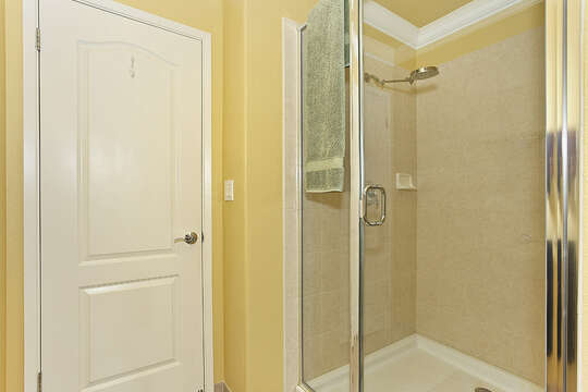 Walk-in Shower on our Ko Olina Condo Rental.