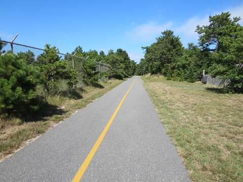 Just 4 doors down - hop on the easy access to the bike path! Enjoy the rail trail all day long.- Chatham Cape Cod New England Vacation Rentals