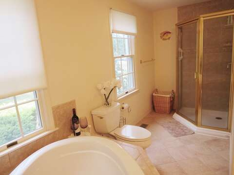 and large shower - 151 Sky Way Chatham Cape Cod New England Vacation Rentals