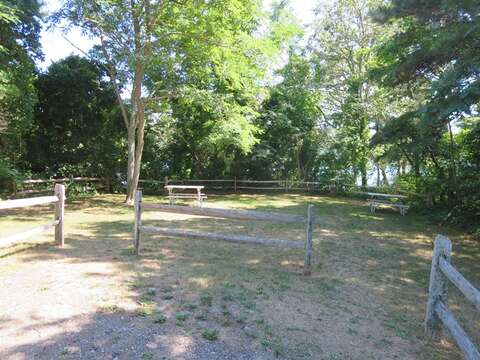 Public picnic area just half mile from the house to meet and greet others in the neighborhood. - Chatham Cape Cod New England Vacation Rentals