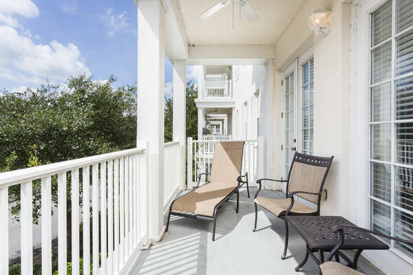 Soak up the Florida sun on your very own wrap-around balcony