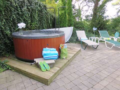 Hot tub for your enjoyment! - 21 Beechwood Road Centerville Cape Cod New England Vacation Rentals