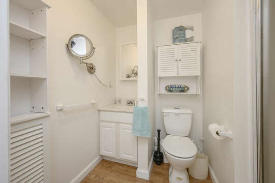 Bath #3 Lower level full with shower-21 Beechwood Road Centerville Cape Cod New England Vacation Rentals