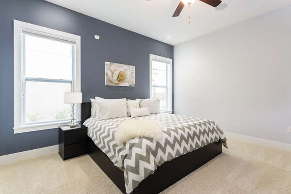 Master Bedroom 5 with King Bed and warm colors