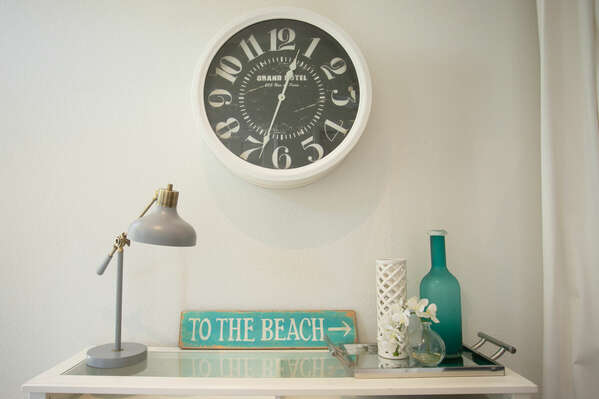Artfully Decorate Beach House.