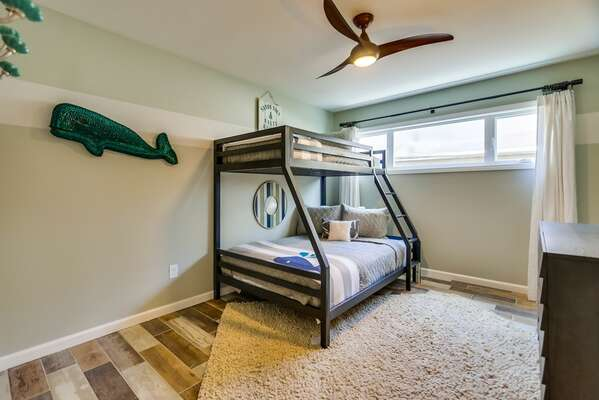 Bunk Bedroom in our San Diego Condo for Rent is Great for Kids
