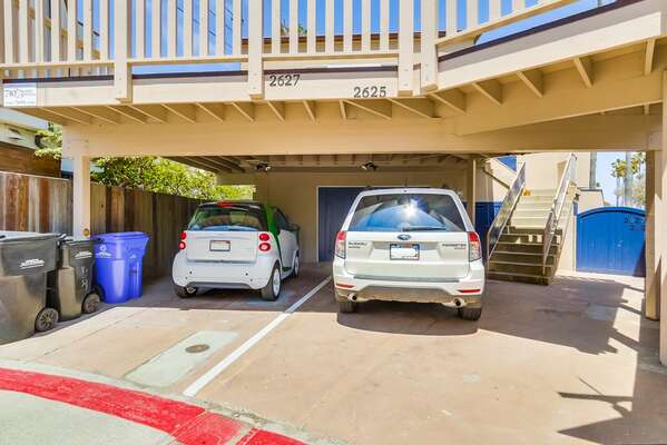 Carport Parking for our ASPIN-2625BAY Rental Property