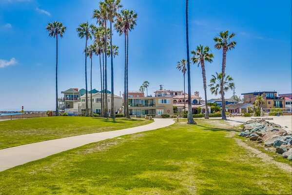 Bay Boardwalk is Great for Those Who Enjoy Taking Walks