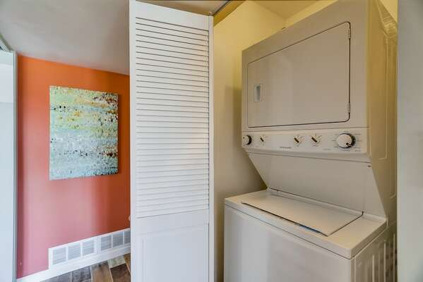 Private Washer/Dryer for Guest Use in our San Diego Condo for Rent