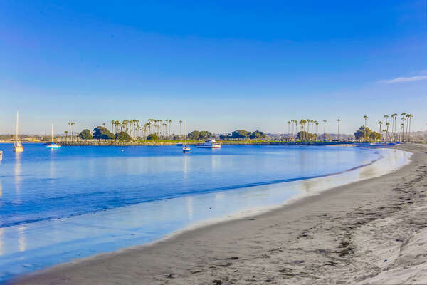 Picture of Beautiful Mission Bay.