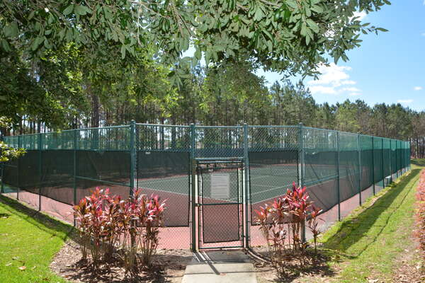 On-site facilities: tennis courts