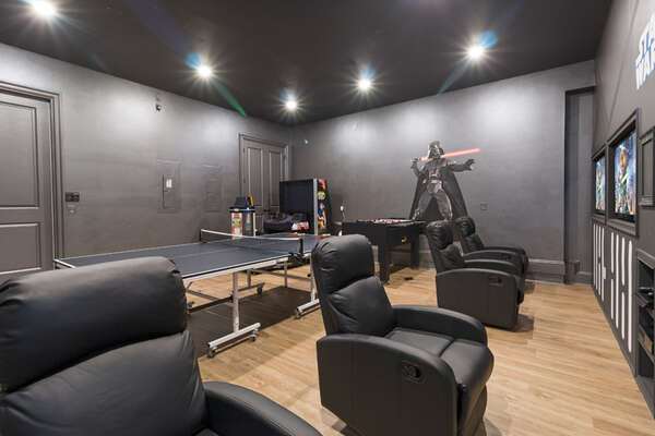 Enjoy every moment spent in the games room during your vacation