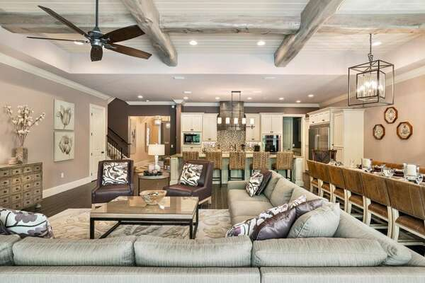 This stunning home offers plenty of space for everyone