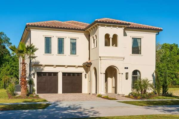 The home offers plenty of driveway parking