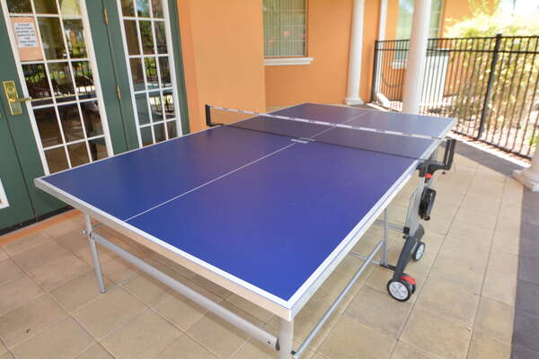 On-site facilities: ping pong