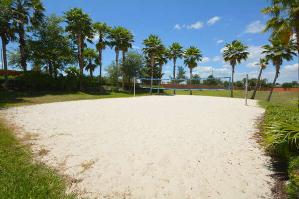 On-site facilities: beach volleyball court
