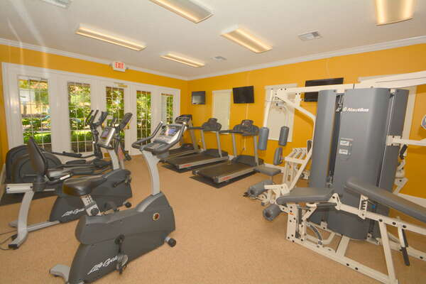 On-site facilities: fitness center