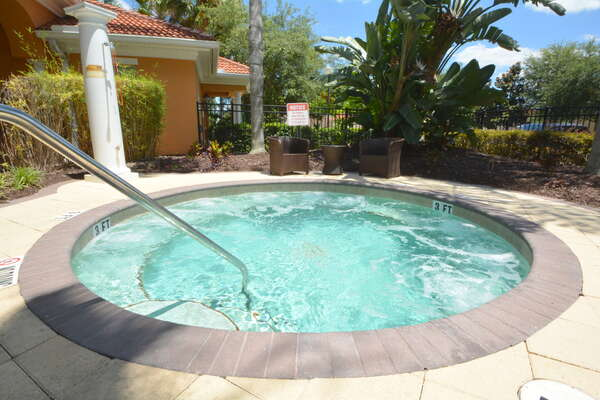 On-site facilities: jacuzzi