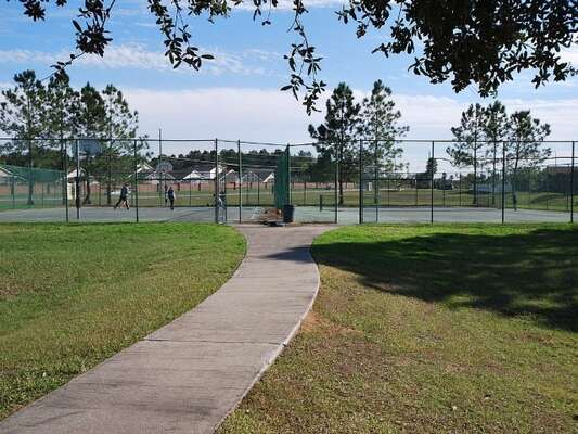On site facilities - tennis courts