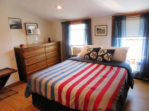 Bedroom #3 second floor Queen Bed - 299 Cranberry Lane North Chatham Cape Cod New England Vacation Rentals