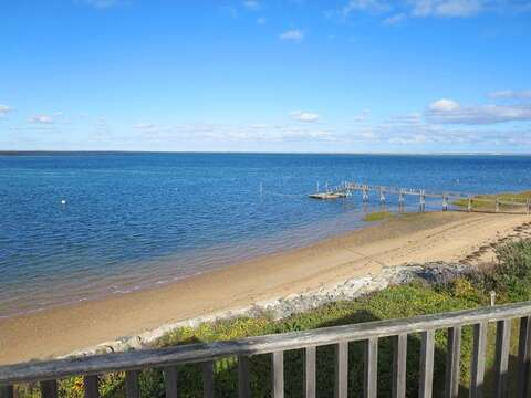 As Far as the eye can see is the deep blue sky and whispers from the ocean. - 299 Cranberry Lane North Chatham Cape Cod New England Vacation Rentals