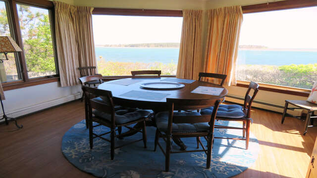 Dining with a view!! view of entire room off kitchen-299 Cranberry Lane North Chatham Cape Cod New England Vacation Rentals